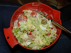 Tuna salad..