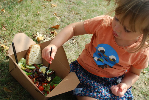 salad in the park