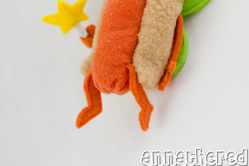 stuffed stuff: Hot Dog Fairy