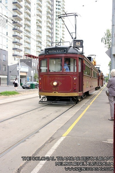 the colonial tramcar restaurant Melbourne-0