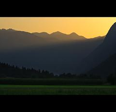 Last sun rays in the valley... (sedge59(away)) Tags: landscape slovenia bohinj pokljuka sailsevenseas sailsevenseasmaster