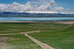 远方的当惹雍错和达果神山 (Yiqun Ding) Tags: china tibet ali 中国 西藏 阿里 达果神山 当惹雍错