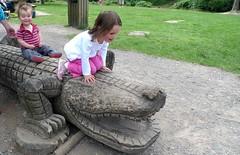 Riding The Wooden Crocodile (foilman) Tags: wooden jasper poppy crocodile aliceholt