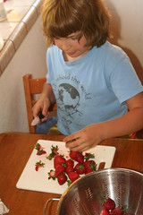Lucas Chopping Berries