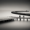 Cloudy Memory (~ superboo ~ [busy busy]) Tags: sanfrancisco longexposure morning water museum sunrise bay pier fishing cloudy dream maritime memory hazy ts hydestreet tiltshift