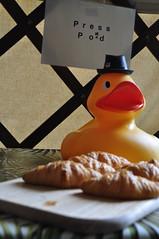 Press duck