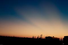 Sunkissed (Daniel Kulinski) Tags: new city morning blue light red sky orange sun black yellow night sunrise dawn warm europe pretty day ray image dusk 10 central evil samsung poland clear ten warsaw rise kissed sunkissed nx duskdawn presets samsungimaging nx10 samsungnx10 gettypoland1