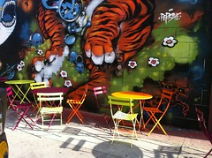Pica Pica outdoor seating