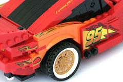 8484 Ultimate Build Lightning Mcqueen - 7