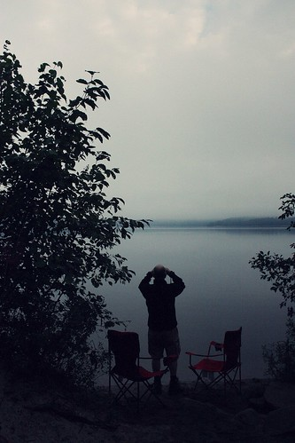 algonquin park (grand lake) camping - day 2