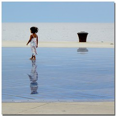 The magic mirror (s@brina) Tags: sea reflection mirror mare cielo zadar bestcapturesaoi elitegalleryaoi