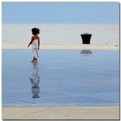 The magic mirror (s@brina) Tags: sea reflection mirror mare cielo zadar bestcapturesaoi elitegalleryaoi