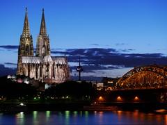 Dämmerung über Köln