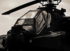 Dark Apache.. (mickb6265) Tags: apache helicopter duxford