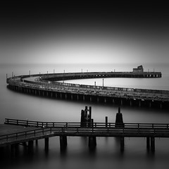 C-Scape (maxxsmart) Tags: sanfrancisco california longexposure bw seascape 120 film monochrome birds fog contrast analog sunrise mediumformat iso100 c september bayarea marinelayer municipalpier aquaticpark hasselblad500cm homedeveloped 2011 sanfranciscosummer kodak100tmax hc110h cscape 150mmf4cf leebigstopper lee10stopnd 4minutesf16 lametitlebutfunnytitle