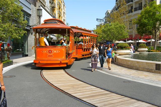 trolley in Glendale