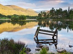 Loch Gamhna (Geoff France) Tags: lake scotland highlands mere aviemore rothiemurchus scottishlandscapes scotlandscountryside scotlandslandscapes landscapelovers