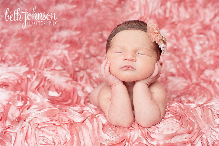 newborn baby girl tallahassee florida studio photographer photography