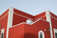 Fughe al tramonto (Carlo Arnesano) Tags: canon liberty casa mediterraneo campagna colori salento luce geometrie masseria rossopompeiano salicesalentino carloarnesano