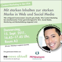 "Einladung ""Content Marketing"""