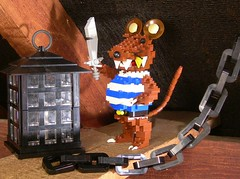 Lenny the Pirat (SlyOwl) Tags: iron lego lounge pirate builders builder