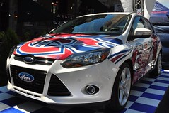 Ford Racing 2011 sur Crescent (abdallahh) Tags: auto canada ford hockey car automobile montral voiture racing crescent qubec nascar ch canadien 2011
