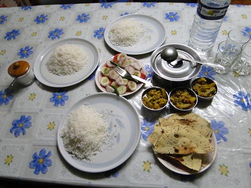 Dinner @ Maneybhanjan