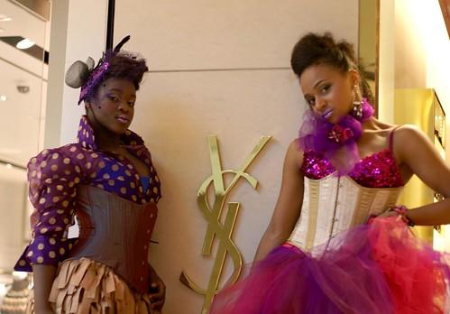 Models at YSL