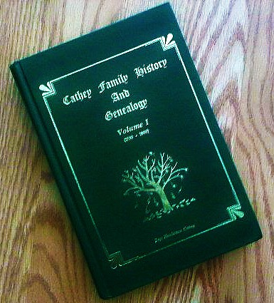 Cathey Family History and Genealogy by Boyt Henderson Cathey