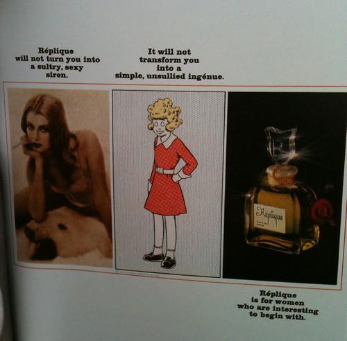 60s perfume ad