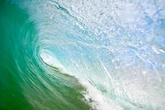 Tubes (Frankie Biltoft) Tags: ocean blue sea green water sand surf barrel wave australia surfing nsw hollow narrabeen bodyboard sydeny