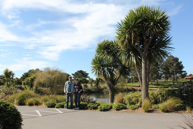 At the Botanic Gardens