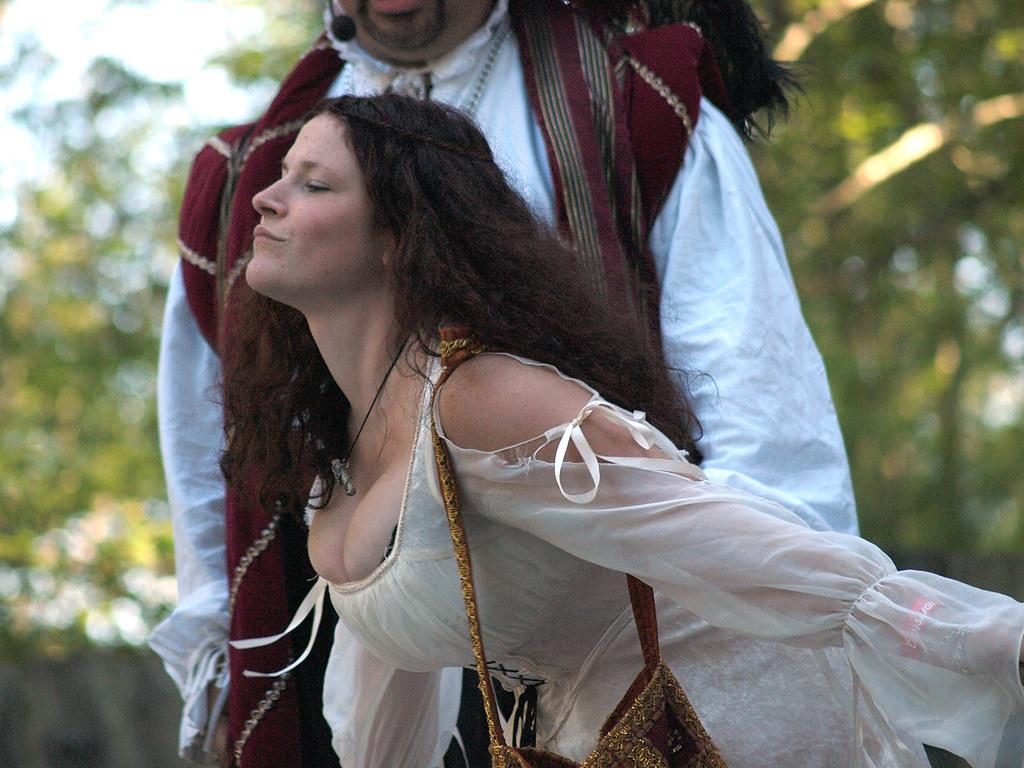 Renaissance faire cleavage