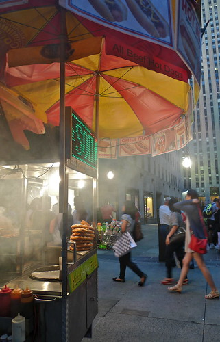 hot dog cart | 5th avenue