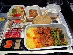 Lufthansa Hot Dinner - Chicken Meal