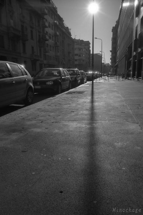 '10年3月ミラノにて