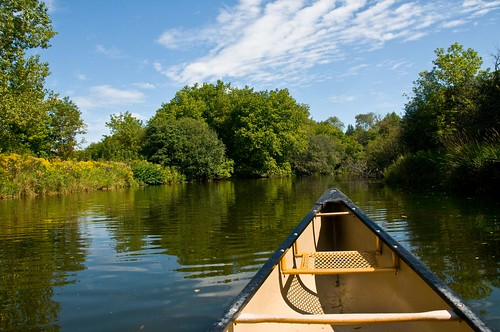 Canoeing the Eramosa River by felixtrio