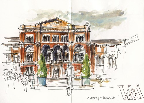22 Thu04_03 Victoria & albert Museum Courtyard