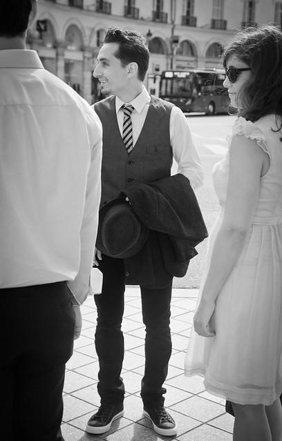 Le futur marié