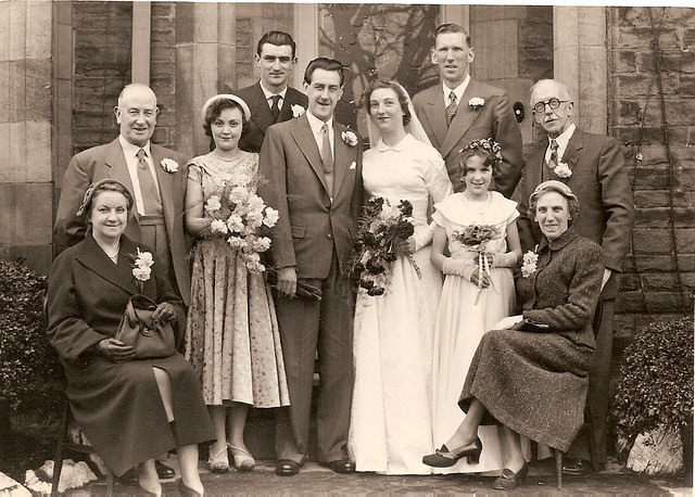 dorothy and Norman's wedding
