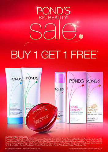 Pond's Big Beauty Sale