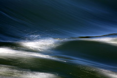 etched (jenny downing) Tags: blue light wild etched abstract france water speed silver river flow frozen metallic smooth spray rush silvery scratched scratch swell etch inky rhone blueblack infrance brushedsteel jennypics takeninfrance jennydowning gettyimagesfranceq2 photobyjennydowning