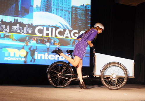 Interbike Fashion Show, Bella Ciao Superba, Christiania Cargo Trike