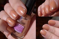 Colorama: Dupla Face (ana-nails) Tags: nude laranja nails manicure nailpolish unhas varnish esmalte colorama duplaface cintilante