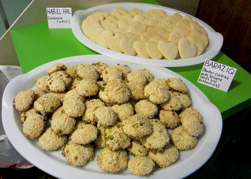 Middle Eastern Cookies for the Craig Thompson event at Word Bookstore
