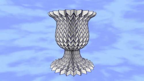 Teselación Copa De Cáliz Ancho / Tessellation Cup Of Width Goblet