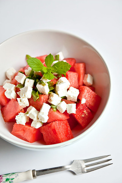 Melounový salát