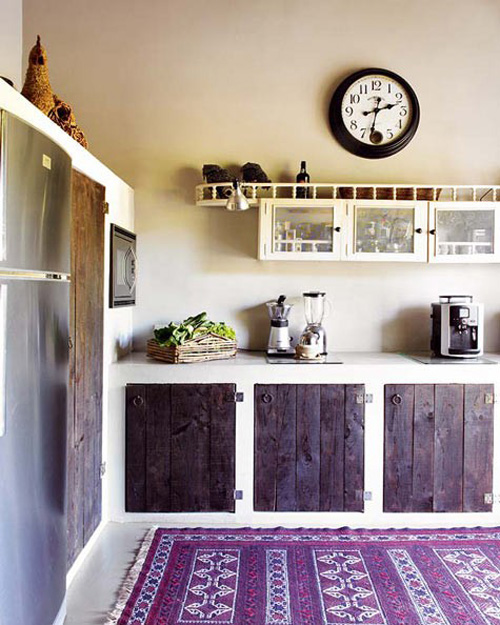 I Love This Rustic Look In The Kitchen Above And I Love The Idea Of A Rug  In The Kitchen. Below Are Some Ideas Of Different Ways To Decorate Kitchens  With ...
