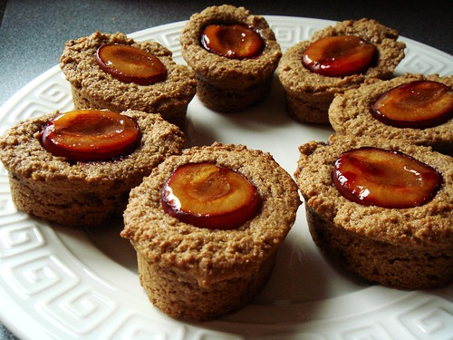 Whole Wheat Spiced Plum Tart
