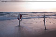WAVE on WAVE (simone savo  www.simonesavo.com) Tags: light sunset sea photoshop canon painting eos long italia tramonto mare simone blu mark ii 5d sole gaeta lazio explo lunga esposizione savo cs5 esplora cameraw expoused